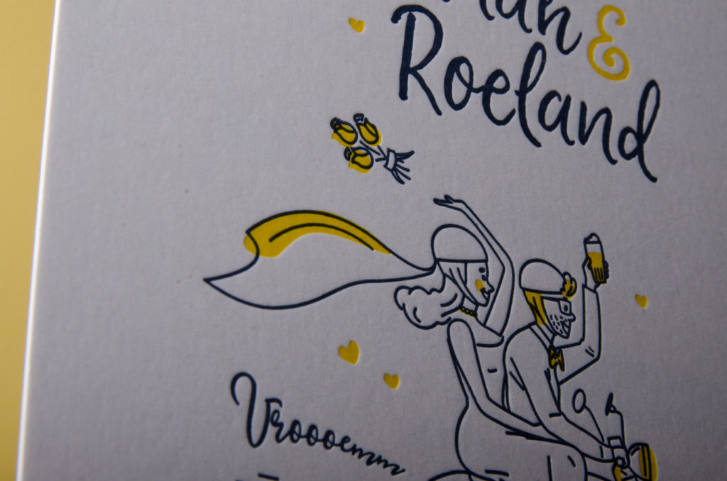 Hannah & Roeland trouwkaart